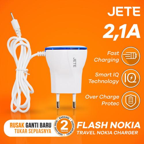 Foto Produk Charger JETE FLASH NOKIA Super Compatibility dari JETE Official Surabaya