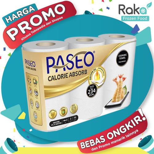 Foto Produk Tisu Tisue Tissue , Paseo Kitchen Towel / Paseo Calorie Absorb 3 roll dari RumahbekuRaka