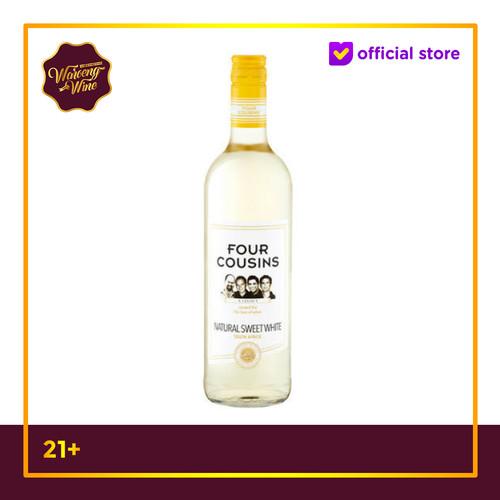 Foto Produk Wine Four Cousins Natural Sweet White Wine dari Waroeng Wine GS