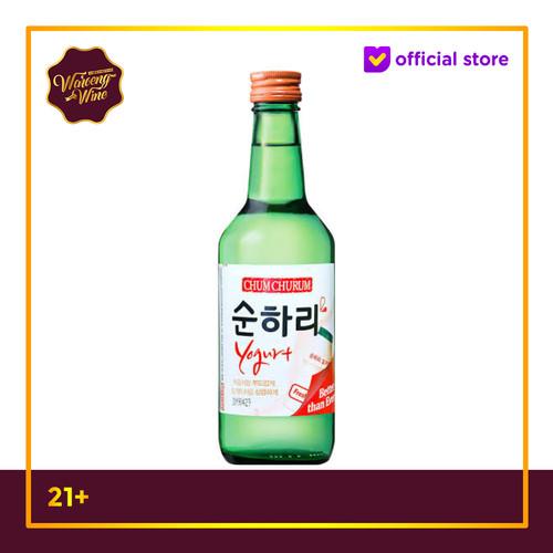 Foto Produk Soju Korea Chum Churum Yogurt 360ml dari Waroeng Wine GS
