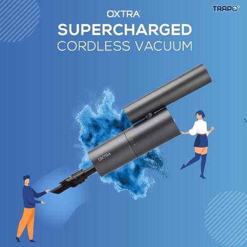 Foto Produk Trapo Oxtra Super Charged Cordless Car Vacuum - Hitam dari Trapo Indonesia