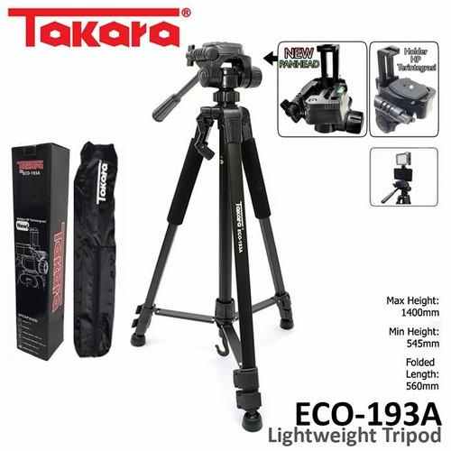 Foto Produk tripod takara 193a - Hitam dari camerahanphone