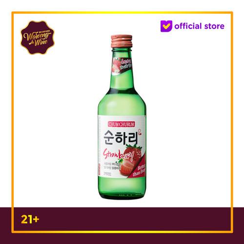 Foto Produk Soju Korea Chum Churum Strawberry 360ml dari Waroeng Wine GS