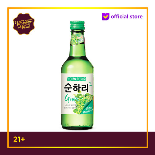 Foto Produk Soju Korea Chum Churum Grape 360ml dari Waroeng Wine GS