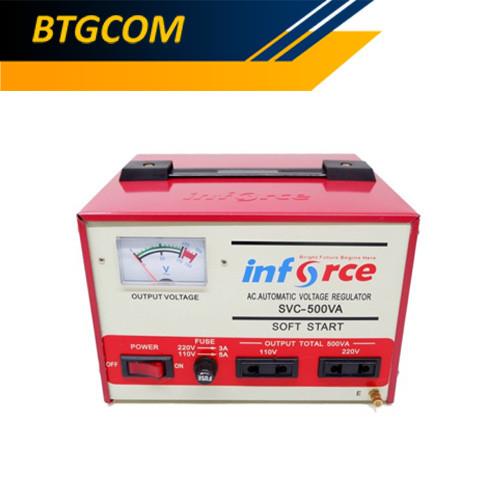 Foto Produk Stavolt Motor Inforce SVC-500VA dari BTGCOM
