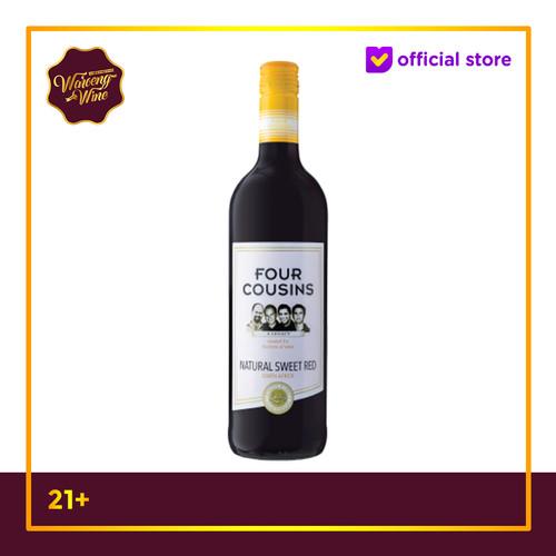 Foto Produk Wine Four Cousins Natural Sweet Red Wine dari Waroeng Wine GS