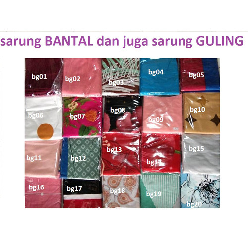 Foto Produk Sarung Bantal Katun Poly - Sarung BANTAL dari Yuki Spring Bed