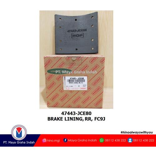 Foto Produk BRAKE LINING, RR, FC9J / 47443JCE80 dari mayagrahaindahofficial