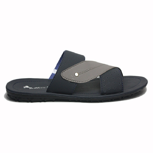 Foto Produk Dr. Kevin Sendal Pria Men Sandal 871-545 - Navy/ Abu - Navy, 40 dari Dr Kevin Shoes