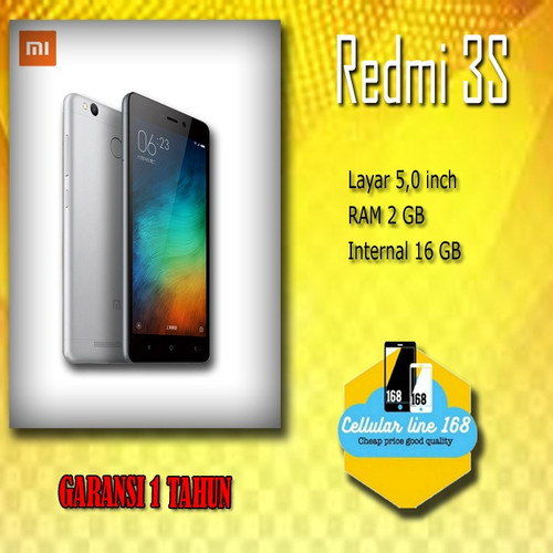 Foto Produk Redmi 3s 2/16 gold dari cellularline168
