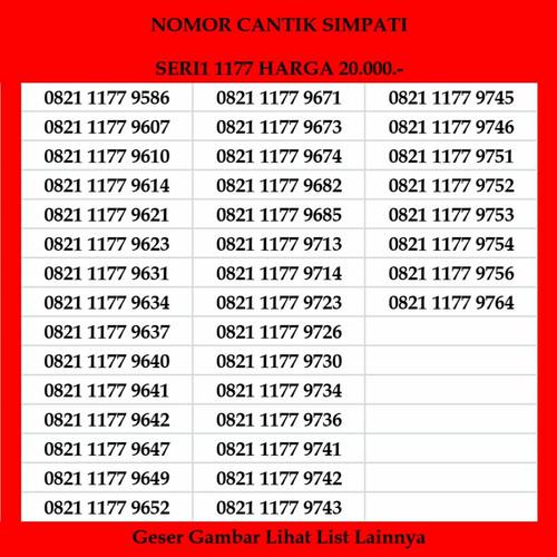 Foto Produk Nomor cantik Simpati Telkomsel 4G LTE Kartu Perdana Prabayar dari 41cell