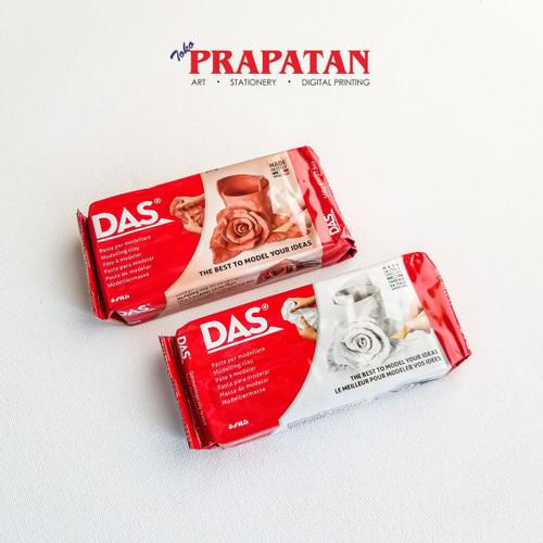 Foto Produk DAS Clay 500 gram - Cokelat dari Toko Prapatan-alat lukis