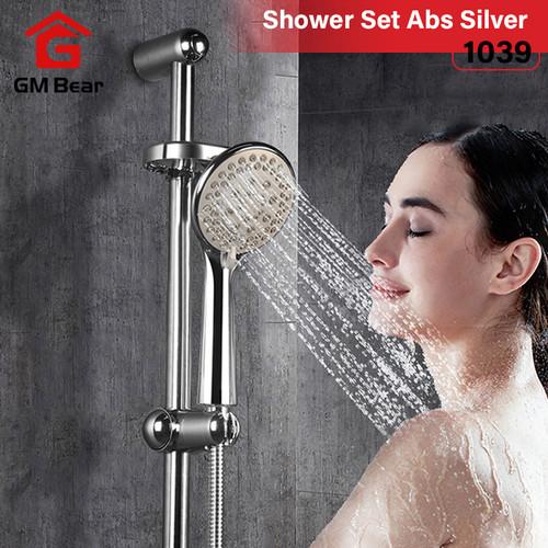 Foto Produk GM Bear Shower Set perlengkapan mandi Full set Silver isi 6 dari GM Bear