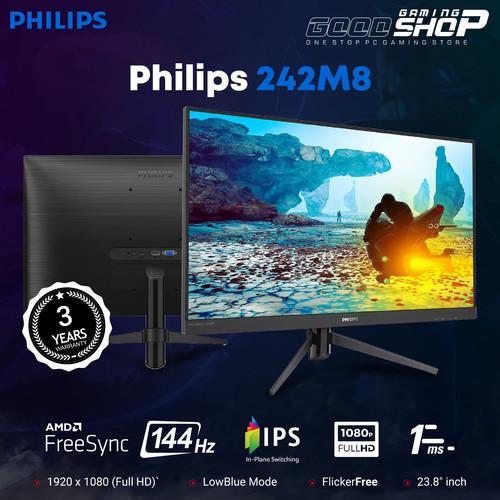 "Foto Produk Monitor LED Gaming Philips 242M8 242M8/70 24"" 1080P IPS 144hz 1ms dari GOODGAMINGM2M"