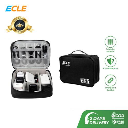 Foto Produk ECLE Storage Bag Tas Aksesoris Gadget Portable Waterproof Multifungsi dari ECLE Official Store