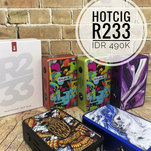 Foto Produk Authentic Hotcig R233 Box Mod dari Cikini Vape