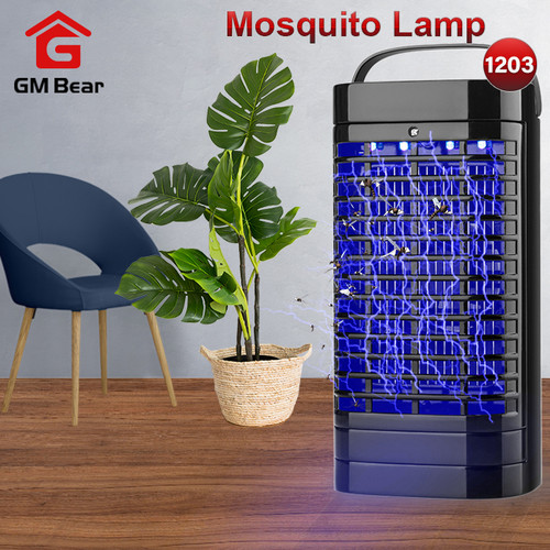Foto Produk GM Bear Lampu Perangkap Pengusir Nyamuk 1203-Mosquito lamp dari GM Bear