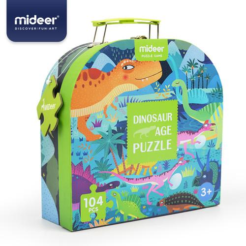 Foto Produk Mideer Gift Box Puzzle / Mainan Edukasi Anak - DINOSAUR dari HappyPlay Indonesia
