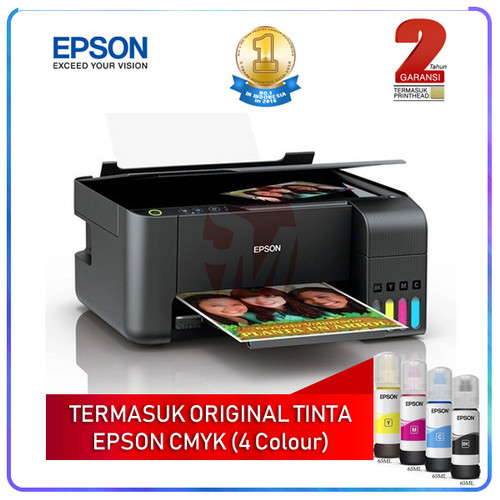 Foto Produk Printer Epson L 3150 (Wifi, Print, Scan, Copy) dari Sinarmutiara Online