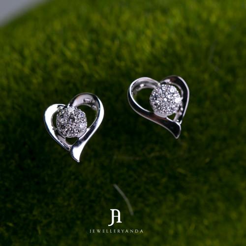 Foto Produk Kyra Diamond earring - Diamond Earring - Jewelleryanda dari jewelleryAnda_