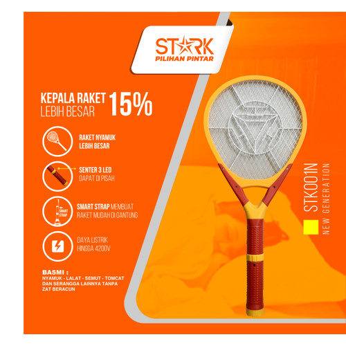 Foto Produk Raket Nyamuk STARK STK-002 dari STARK Indonesia