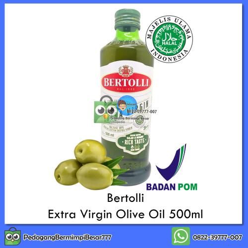 Foto Produk Bertolli Extra Virgin Olive Oil 500ml | Minyak Zaitun | Olive Oil dari PedagangBermimpiBesar777