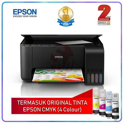 Foto Produk Epson L3150 EcoTank WiFi Multifungsi Printer (Pengganti L405) dari Sinarmutiara Online