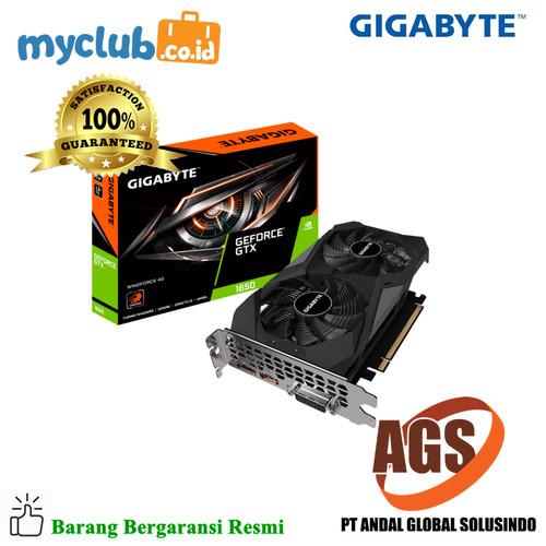 Foto Produk Gigabyte VGA GV-N1656WF2-4GD GeForce® GTX 1650 D6 WINDFORCE 4G dari Myclub