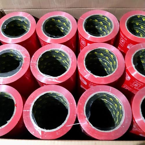 Foto Produk LAKBAN FRAGILE MERAH 48MM× 100MTR FULL JANGAN DI BANTING dari joker store 29