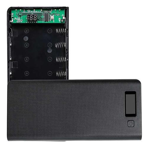 Foto Produk 8 Slot Power Bank Case Kotak DIY untuk 8 Baterai 18650 Putih - Biru - Putih dari Avelioo
