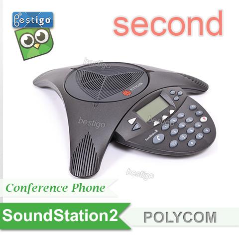 Foto Produk Telepon Polycom Conference SoundStation2 Expandable dari BESTIGO PABX TELEPON