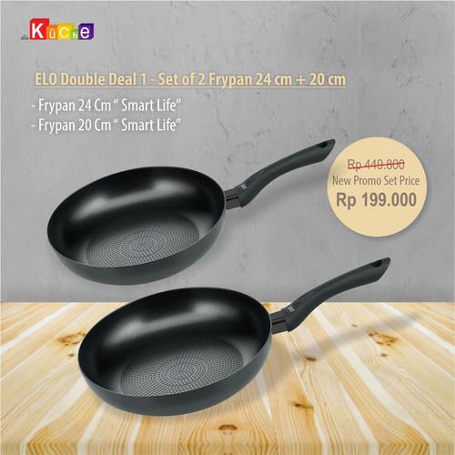 Foto Produk ELO Double Deal 1 - Set of 2 Frypan 24 cm + 20 cm dari Diekuche Fackelmann