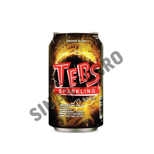 Foto Produk TEBS Sparkling Soda Kemasan Kaleng 330 ml Isi 12 pcs dari Sosro Official Store