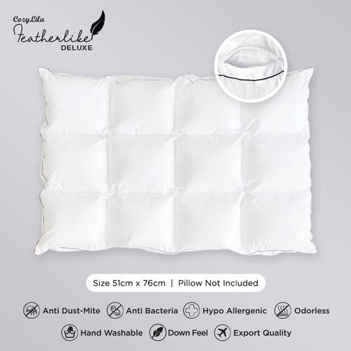 Foto Produk Pillow Comforter Featherlike Deluxe dari Cozylila Official Store