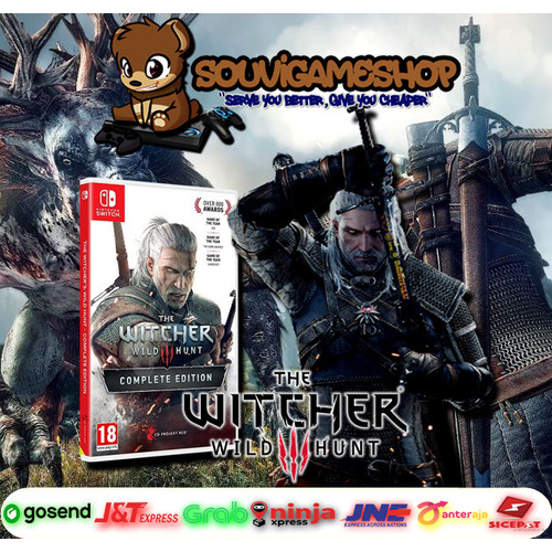 Foto Produk PALING MURAH ! SWITCH THE WITCHER 3 WILD HUNT COMPLETE EDITION ENGLISH dari souvigameshop
