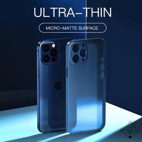 Foto Produk Ultra Thin Case Iphone 6 6s Plus 7 8 SE 2020 X XS XR 11 PRO MAX Casing - Black, 6 6S dari Caseayangan ID