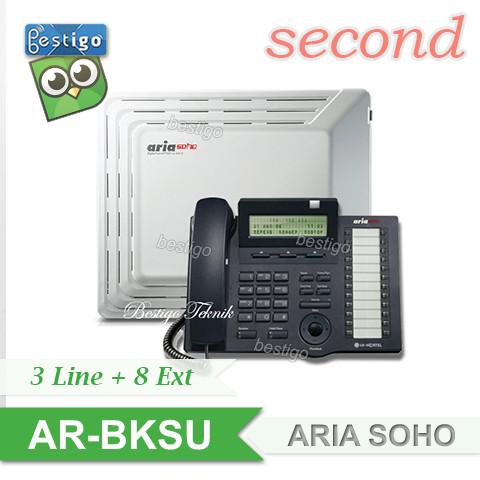 Foto Produk Pabx Aria SOHO kapasitas 3 Line 8 Extension dari BESTIGO PABX TELEPON