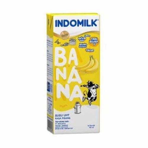 Foto Produk Susu UHT Indomilk 190 ml rasa Pisang (Banana) dari Toko Susu Healthy Kids