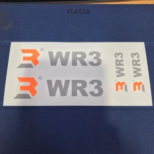 Foto Produk Stiker WR3 Official dari Xtreme Motor Sport