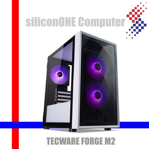 Foto Produk TECWARE FORGE M2 [3FAN-ARGB,MATX] B/W NO HUB SYNC MOBO dari silicon ONE Computer