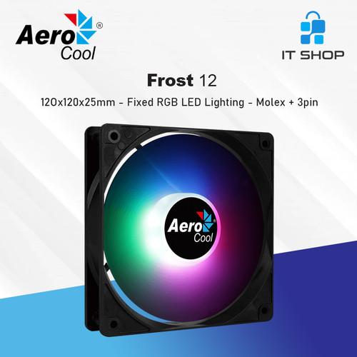 Foto Produk AeroCool FROST 12 Fan RGB 12cm dari IT-SHOP-ONLINE