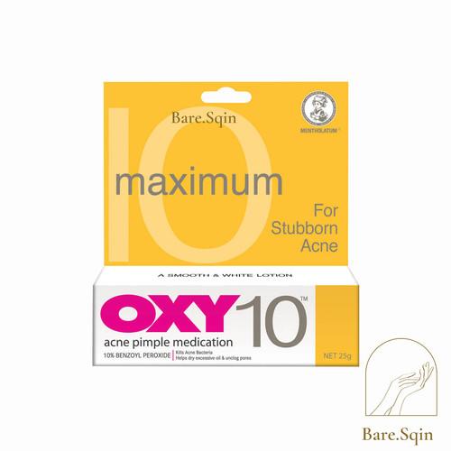 Foto Produk Oxy 10 - 25gram - 100% ORIGINAL / Obat Jerawat Oxy 10 dari Bare Sqin