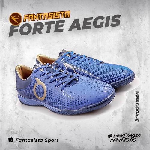 Foto Produk SEPATU FUTSAL ORTUSEIGHT FORTE AEGIS IN - DEEPBLUE - 11020145 - 41 dari fantasistafootball