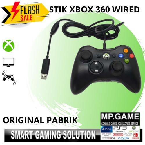 Foto Produk Stik Stick Xbox 360 Wired kabel + Thumbgrip (2 pc) dari MPGAME