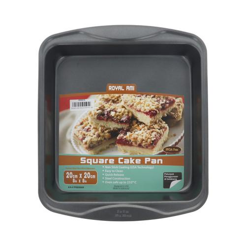 Foto Produk SQUARE CAKE PAN 20 CM ROYAL AMI dari TitanBaking