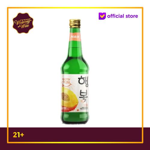 Foto Produk Happy Soju Peach 360ml dari Waroeng Wine GS