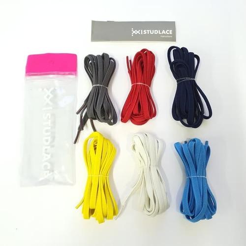 Foto Produk Tali Sepatu STUDLACE Elastis Shoelace for Sneakers Shoes Lace Only - Black Laces dari JS Store Indonesia