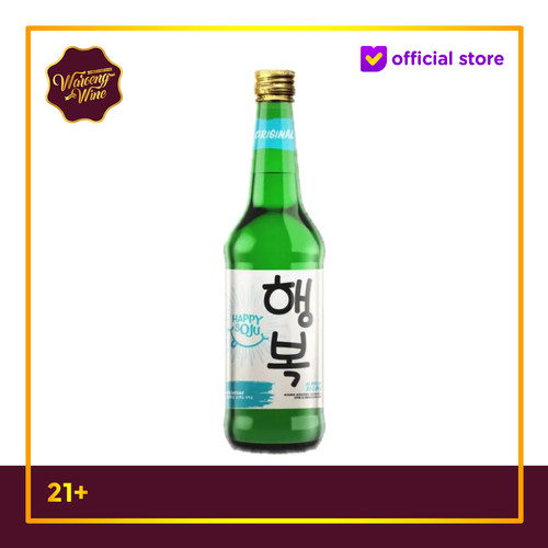 Foto Produk Happy Soju Original 360ml dari Waroeng Wine GS
