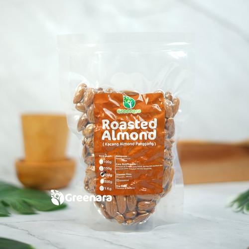Foto Produk almond panggang 250 gram dari Greenara