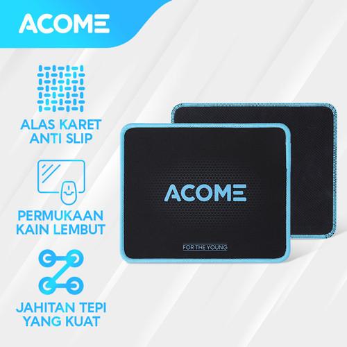Foto Produk ACOME Fashion Mousepad Alas Karet Anti Slip AMP01 - Black dari Acome Indonesia